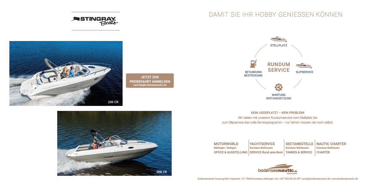 Leinen los zur Inwater Boatshow